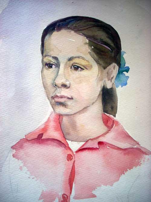 Федоринчик Ольга, 13 лет
