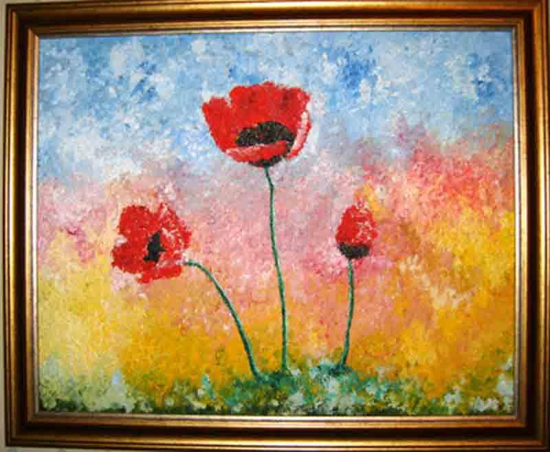 Выставка работ Свиридович Александры